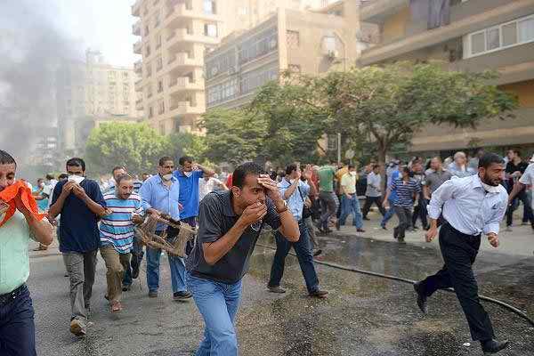 Egypte 14-08-2013 (Crédit photo AFP)