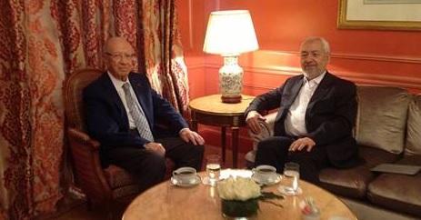 Ghannouchi-BCE à Paris