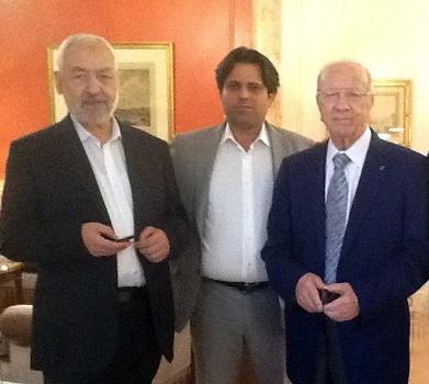 Ghannouchi-Riahi-BCE (Crédit photo - FB Slim Riahi)