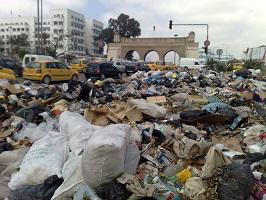 Ordures - Tunis (photo - tunisienumerique)