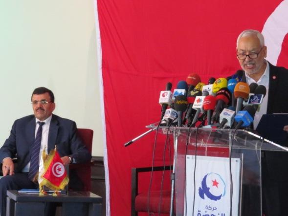 Conférence de Presse d' Ennahdha 15 juillet 2014 Tunis |Khalil Abdelmoumen |Webdo|