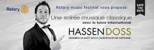 hassen doss rotary music festival carthage