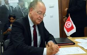 Mustapha Ben Jaafer candidat (credit photo - Ettakatol)
