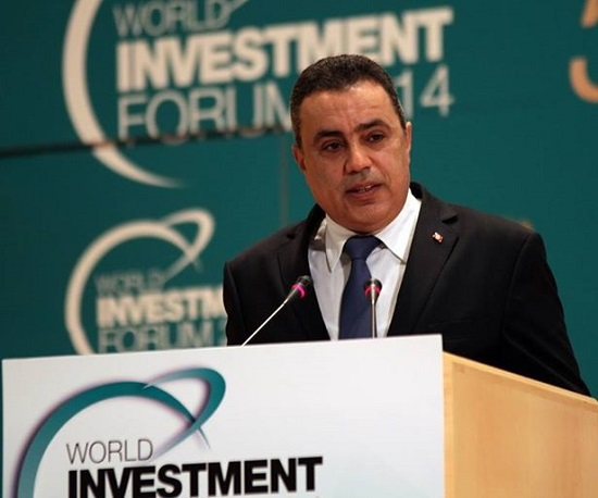 Mehdi Jomaa - Genève (credit photo presidence du gouvernement)