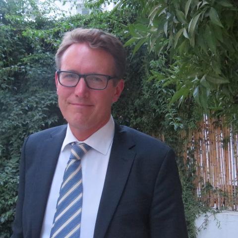 Fredrik Florén, nouvel ambassadeur de la Suède en Tunisie. Crédit photo : Lilia Weslaty