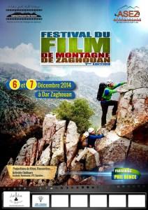 affiche festival de montagne zaghouan