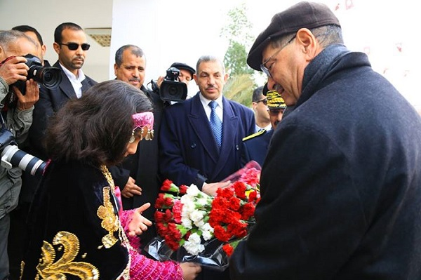 Habib Essid à Tataouine 28-02-2015 - presidence Gvt