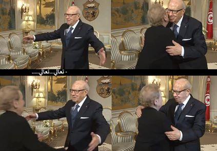 Béji Caid Essebsi et Madeleine Albright