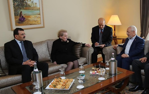 Madeleine Albright - Ennahda - page fb R (2)