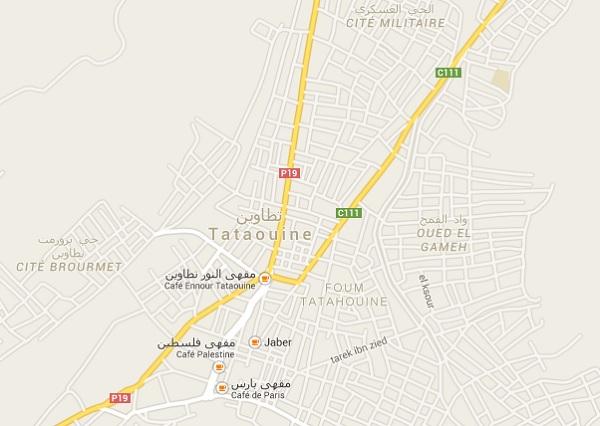 map Tataouine
