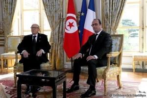Entretien Hollande - BCE 07-04-2015 - photo presidence republique française