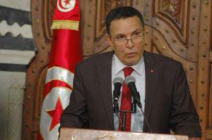 Farhat Horchani, ministre de la Défense.
