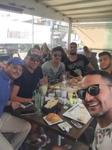 Akaichi en compagnie de Jemal, Bounedjah, Ben Amor et   Boughattas