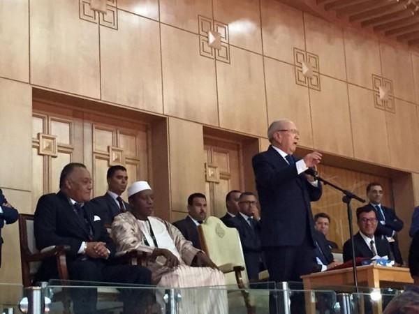 Béji Caid Essebsi déclare ouverte la 28ème édition de  l'AfroBasket