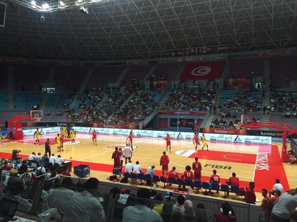 Egypte vs Mali #AfroBasket2015