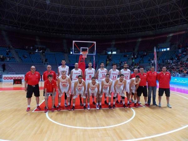 Sélection tunisienne de basketball | Photo : FTBB