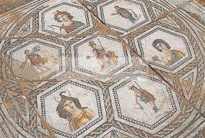 mosaique du musee d'El Jem