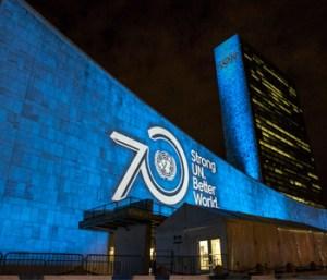 ONU 70 ans 2