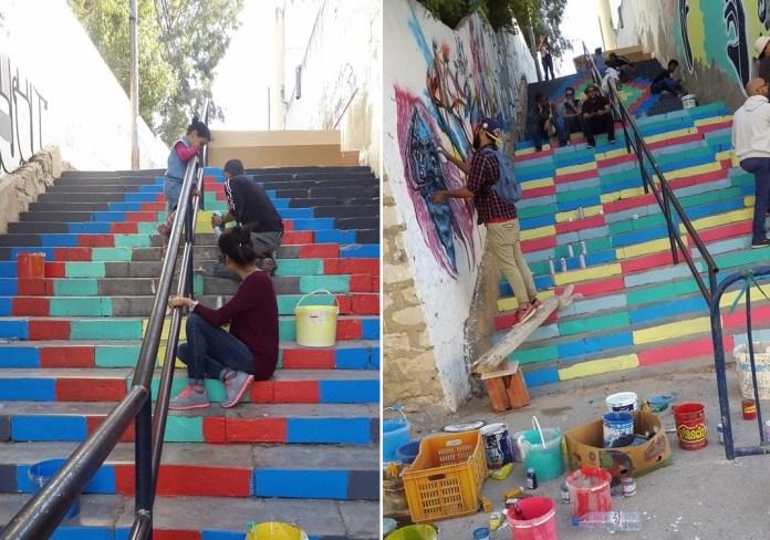 Street artistes Rades (2)