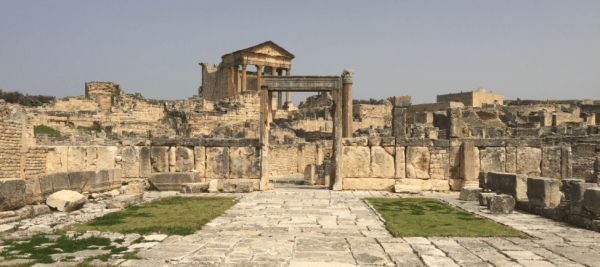 Capitole de Dougga (Photo : Mohamed Ali Sghaier)