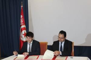 Signature d'un accord entre le ministère de la Formation Professionnelle et de l'Emploi et Mercy Corps