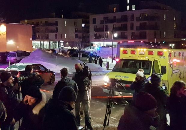 Six personnes ont été tuées dimanche soir dans une fusillade dans une mosquée de la ville de Québec (Reuters)
