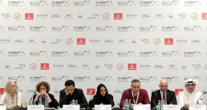 Conférence de presse de l'Arab Film Institute