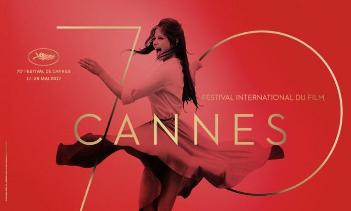 Claudia Cardinale sur l'affiche de la 70ème édition du Festival de Cannes