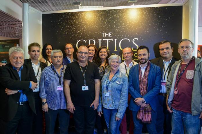 Quelques uns des critiques membres du jury des Critics Awards