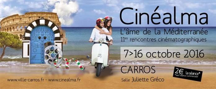 Cinéalma, l'âme de la Méditerranée - Affiche 2016