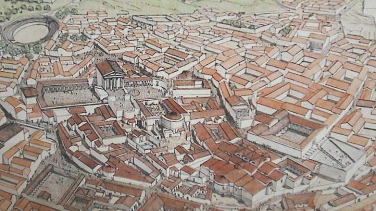 Qui saura reconnaître cette ville antique de l'époque romaine ?