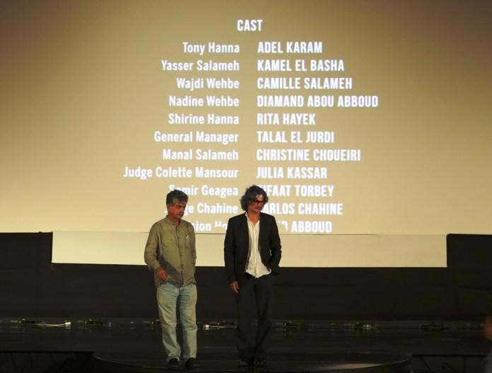 Débat avec Zyad Doueiri à l'issu de la projection de son film L'insulte