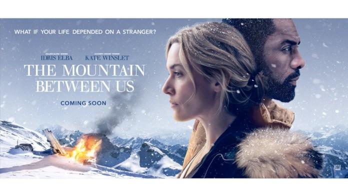 """Affiche du film d'ouverture """"The Mountain Between Us"""""""