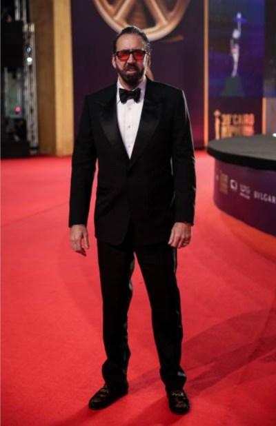 Nicolas Cage sur le tapis rouge du CIFF