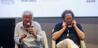 """M.Nejib Ayed participant au panel """"le rôle des festivals aujourd'hui""""."""