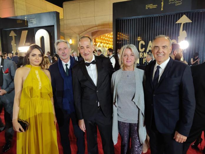 Cérémonie de clôture du Festival International du Film du Caire