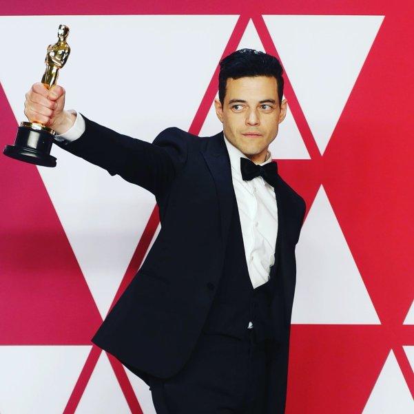 Rami Malek et son Oscar de Meilleur acteur