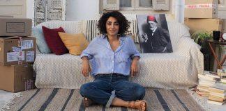 """Golshifteh Farahani dans le film """"Un divan à Tunis""""."""