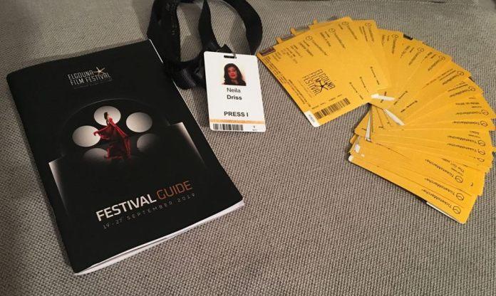 GFF 2019 - Le guide du festival et les divers tickets pour lesfilms et panels.