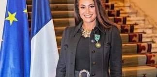 Hend Sabry officier des Arts et des Lettres