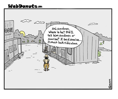 WebDonuts Comics - Sunrise