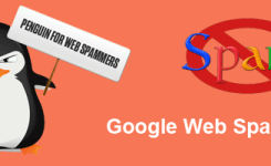Google recent algorithm update – fighting web spam