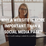 Why a website is more important than a social media page