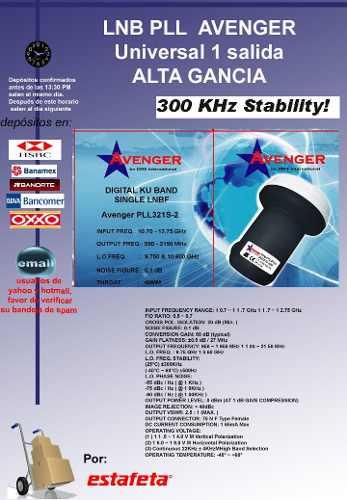 Image lnb-avenger-pll-claro-50-22443-MLM20230798010_012015-O.jpg