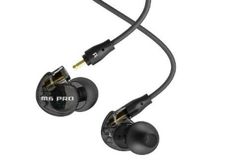 Audífonos Monitor Mee Audio M6 Pro Smoke Con Micrófono