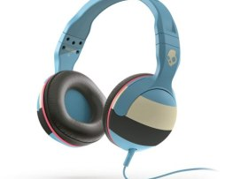 Audifonos Skullcandy Hesh 2 Stripe Blue Cream Con Microfono