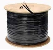 Cable Siames Coaxial Cobre Rg59 Camara Video Y Energia Cctv