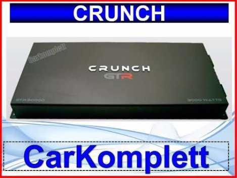 Amplificador Crunch Gtr3000.1 Clase D