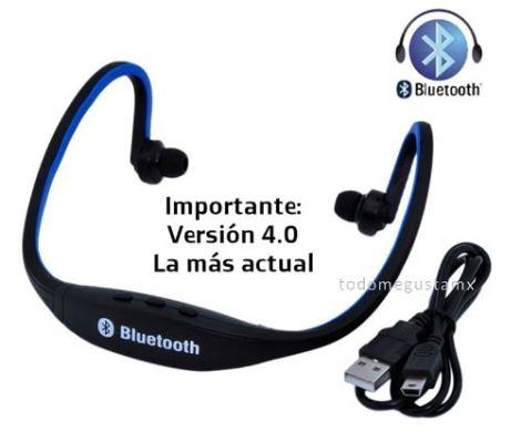 Audifonos Bluetooth Deportivos Manos Libres Inalámbrico V4.0
