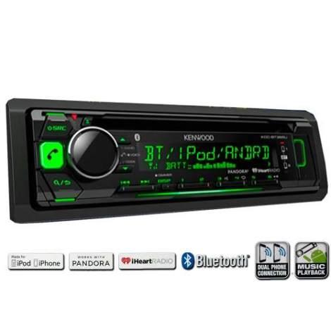 Autoestereos Kenwood 362u Bluetooth Android Ipod Iphone Usb